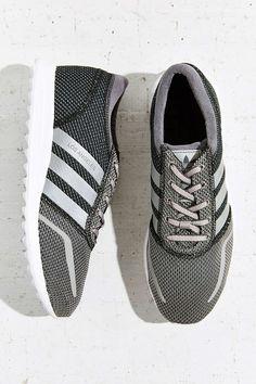 a6e16e31e15 adidas Originals Los Angeles Reflective Stripe Running Sneaker - Urban  Outfitters Grey Sneakers