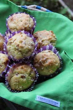 Olio d'Oliva...: Muffin con mortadella e formaggio