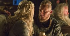 Björn Ironside married Blaeja, the daughter of king Ælla of Northumbria and they had the children Harthacanute and Aslaug, who was named after her grandmother Aslaug.