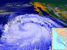 Espectacular imagen en 3D del huracán Linda