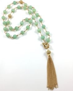 Burmese Jade Beaded Necklace with a 14k Gold Tassel This beautiful Burmese Jade Beaded Necklace is meticulously hand made with 24k gold vermeil toggle clasp and a gorgeous long tassel.  Wear it long or wrap it around twice for a bold and beautiful statement. Choose your Burmese Jade beaded necklace in sterling silver, 14kgf yellow […]