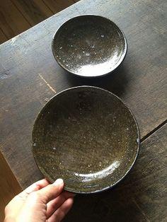 野鉄釉6寸皿 残少 - 器と暮らしの道具 OLIOLI