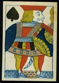antique playing card