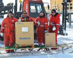 Buderus dostarcza kotły grzewcze na Antarktydę | Buildings.pl