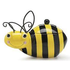 Honey Bumble Bee Cookie Storage Jar
