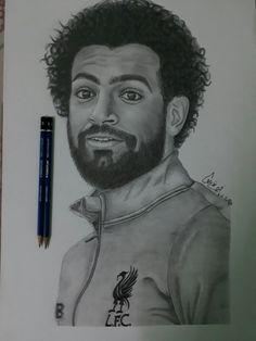 Amera drawing for salah Football Art, Football Players, M Salah, Pencil Drawings, Art Drawings, Mohamed Salah, Drawing Poses, Art Sketches, Silhouette Cameo