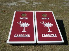 Gamecock Girl: South Carolina Gamecocks Cornhole Boards