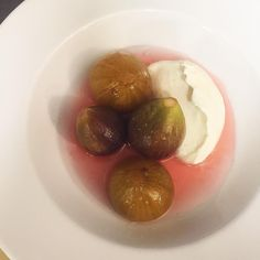A real slurper. Jammy figs in grappa @altroparadiso