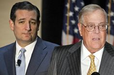 "Ted Cruz and Koch brothers embroiled in shadowy Tea Party scheme. Meet the right-wing group masquerading as a mainstream nonprofit -- but pushing extremist laws across the country. ""What we uncovered through our investigation is that SPN along with its affiliates amount to $83 million just flooding into the states to push and promote this agenda …,"""