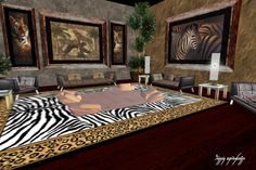 Merveilleux Jungle Themed Rooms For Adults | Jungle Theme Room Décor, Safari Bedrooms,  Jungle Animal