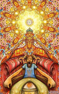 I love you Terence Mckenna A new way to say Hooray Art Visionnaire, Terence Mckenna, Psychadelic Art, Acid Art, Tame Impala, Psy Art, Trippy Wallpaper, Alex Grey, Hippie Art
