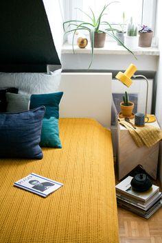 Happy Interior Blog: Urban Jungle Bloggers: Cosy & Green Bedroom