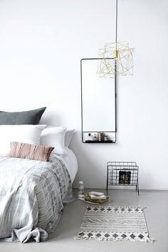 #Slaapkamer met producten van het merk #HouseDoctor #Flindersdesign #Scandinavisch #design #interieur #wonen