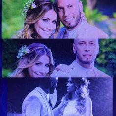 #mulpix ¡Miren que enamoraditos se ven! Fotos de la boda de Alexis con su esposa Evelyn Montilla.  #DandoCandela
