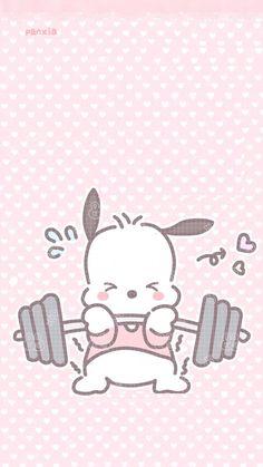 I heard you calling. Sanrio Wallpaper, Hello Kitty Wallpaper, Kawaii Wallpaper, Cartoon Wallpaper, Hello Kitty Characters, Sanrio Characters, Cute Characters, Kawaii Drawings, Cute Drawings