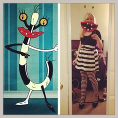 Awesome Oblina From Aaahh Real Monsters Costume Monster 90s Halloween Party Monster Costumes Halloween Party