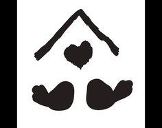 Home Tweet Home Bird Stencil  8 x 8  STCL646 by por StudioR12