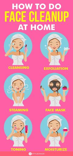 Skin Care Routine Steps, Skin Care Tips, Clean Face, Clean Up, Acne Skin, Oily Skin, Facial Steps At Home, How To Do Facial, Cleaning Hacks