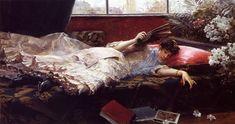 Julius LeBlanc Stewart      An Idle Afternoon, 1884