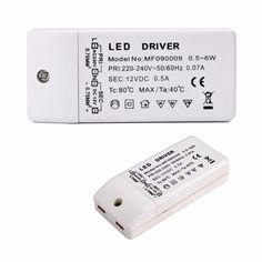 Led 드라이버 변압기 50 와트 30 와트 18 와트 12 와트 6 와트 dc 12 볼트 출력 1A 전원 Adatper 전원 공급 램프 led 스트립 통