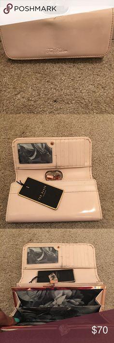 "Ted Baker Wallet Ted Baker light pink wallet. measurements 7""L 4""H 2""W Ted Baker Bags Wallets"