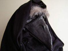 Masquerade mask black raven mask crow mask Plaque by EpicFantasy