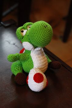 Yoshi! Wish I had the pattern...