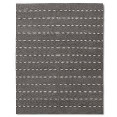 Striped Felt Area Rug Gray 5'x7' - The Industrial Shop™ : Target