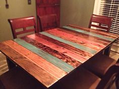 Rustic+Pallet+Wood+Table+by+JessiJamesOriginals+on+Etsy,+$375.00
