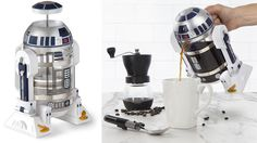 It won't be long before Rogue One: A Star Wars Story officially hits theaters, which means it's just about time for another onslaught of Star Wars merchandise. Most of it is stuff you've seen before—toys, figures, re-re-releases of previous films—but an R2-D2 coffee press? That'll get us to perk up and pay attention, and not because of all that caffeine.