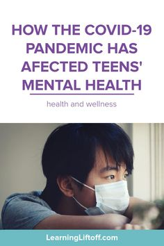 The pandemic has been hard on everyone, but a new study shows that it may be affecting teens' mental health more than parents thought.