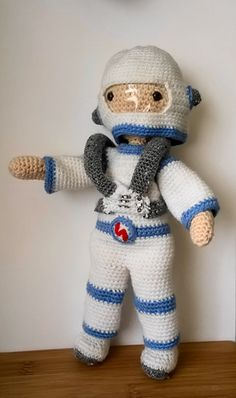 Ravelry: Astronaut Outfit - My Little Crochet Doll pattern by Betty Virago