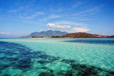 Crsytal clear water pangabatang island. Flores- East Nusa Tenggara. Indonesia