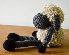 Sheldon the Sheep Free pattern