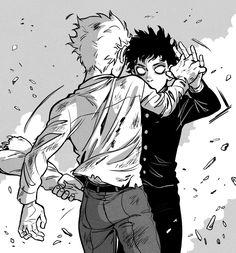"""sandflakedrew"" - Makes it both sadder and also better Psycho 100, Mob Psycho, Anime Manga, Anime Art, Mob Physco 100, Kageyama, Me Me Me Anime, Art Blog, Art Reference"