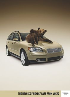 Volvo - The new eco friendly cars from Volvo - Advert & Animals