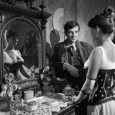 Jean-Paul Belmondo and Claudia Cardinale in LA VIACCIA  (1961)