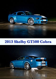 One-of-a-kind tribute 2013 Shelby GT500 Cobra.