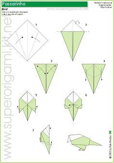 Origami (Papiroflexia) ¿Qué Es? Como Hacer, Paso a Paso, Figuras, Papel, Imágenes, Videos