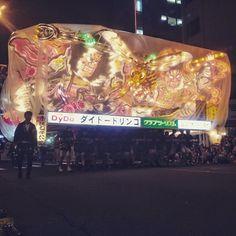 En direct du #Aomori Nebuta Matsuri. Ça envoi du lourd _ by tunimaal #travel #japan