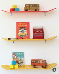 shelves - Bubby and Bean ::: Living Creatively: Thoughts On Designing a Nursery