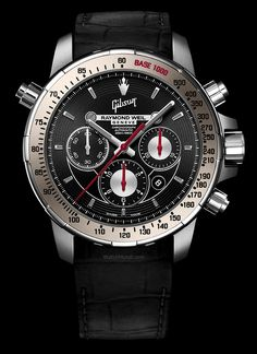 Raymond Weil – Nabucco Inspired by GIBSON. Inspired by the self-tuning Gibson SG Standard.