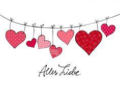 valentines day drawings als Karte geeignet als Kar - valentinesday Valentines Day Drawing, Valentines Day Memes, Valentines Day Decorations, Valentine Day Crafts, Valentines Hearts, Valentine Cards, Homemade Journal, Valentine's Day Poster, Homemade Valentines