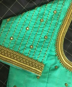 Best Blouse Designs, Simple Blouse Designs, Sari Blouse Designs, Designer Blouse Patterns, Dress Designs, Latest Embroidery Designs, Hand Embroidery Design Patterns, Saree Tassels Designs, Hand Work Blouse Design