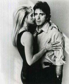 """Al Pacino y Ellen Barkin en """"Melodía de seducción"""", 1989"""
