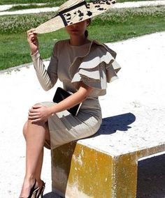 Personal growth is like being on an airplane. Don't be the shoulda type, be the did it type. Modest Fashion, Love Fashion, Vintage Fashion, Womens Fashion, Fashion Moda, Mode Chic, Love Hat, Hats For Women, Mother Of The Bride