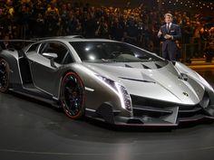 Lamborghini Veneno (Foto: Fabrice Coffrini/AFP)
