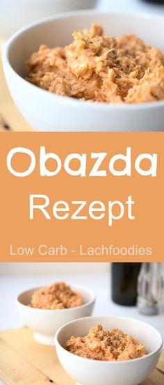 Selbstgemachter Obazda Ein leckeres Rezept für Obazda. Low Carb, Glutenfrei und super lecker.