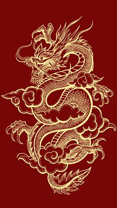 - Millions of photos, vectors, videos and music files for your creative inspiration and projects. tattoos Illustration of Traditional Golden Chinese Dragon. Iphone Background Wallpaper, Aesthetic Iphone Wallpaper, Aesthetic Wallpapers, Chinese Dragon Drawing, Japanese Dragon Tattoos, Japanese Tattoo Art, Body Art Tattoos, Nature Tattoos, Arabic Tattoos
