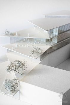 architectural model - filigree clad arnhem ArtA cultural center by kengo kuma